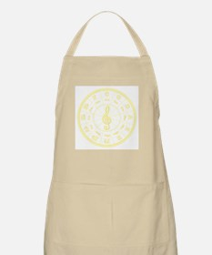 Sunny Circle of Fifths BBQ Apron