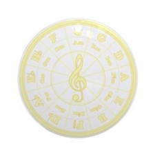 Sunny Circle of Fifths Ornament (Round)