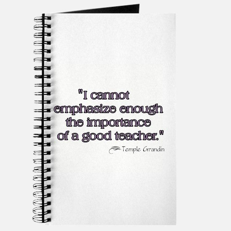 Good Teacher Journal