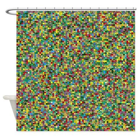 Unique One Of A Kind Shower Curtain