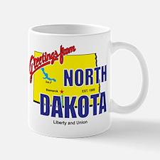 Greetings From North Dakota Mug