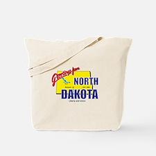 Greetings From North Dakota Tote Bag