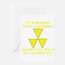 BE A PREPPER Greeting Card