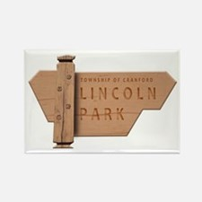 Lincoln Park Rectangle Magnet