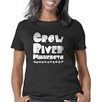 Slippery when wet | Oregon Jr. Ringer T-Shirt
