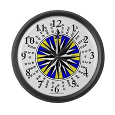 Star of The North Compass Rose Large Wall Clock