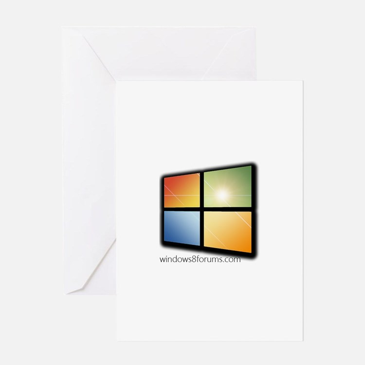 Cute Operating system Greeting Card