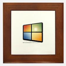 Cute Windows Framed Tile