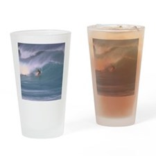 Surfing1 Drinking Glass