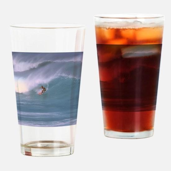 Surfing1 Drinking Glass