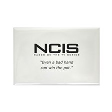 NCIS Quote Rectangle Magnet
