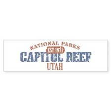 Capitol Reef National Park UT Bumper Sticker