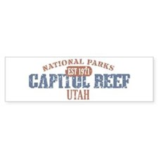 Capitol Reef National Park UT Bumper Stickers