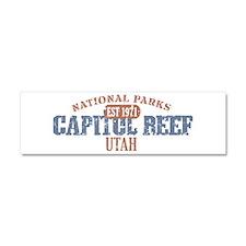 Capitol Reef National Park UT Car Magnet 10 x 3