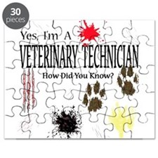 Yes I'm A Veterinary Technici Puzzle