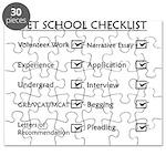 Vet School Checklist Puzzle