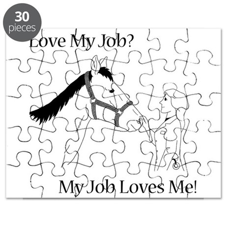 Equine Veterinarian (female) Puzzle