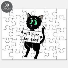 Will Purr For Food Puzzle
