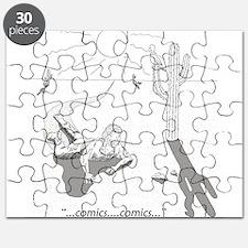 Comic Book Desert Puzzle