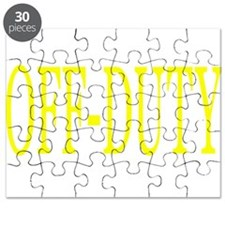 Off-Duty (Yellow) Puzzle