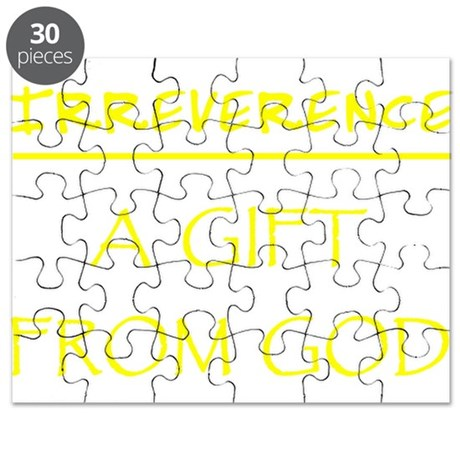 Irreverence Puzzle