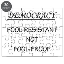Democracy Not Fool Proof Puzzle