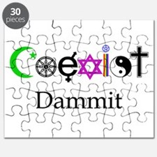 Coexist Dammit! Puzzle