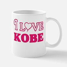 I Love Kobe Mugs
