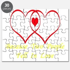 Baby Love (dark apparel) Puzzle
