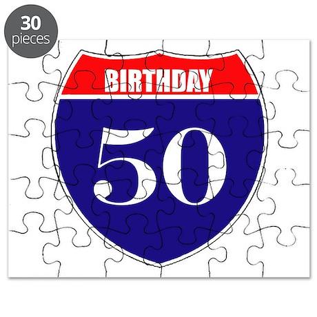 50th Birthday! Puzzle