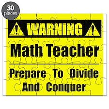WARNING: Math Teacher 1 Puzzle
