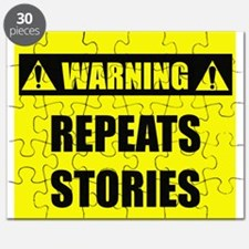 WARNING: Repeats Stories Puzzle