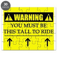WARNING: This Tall Puzzle