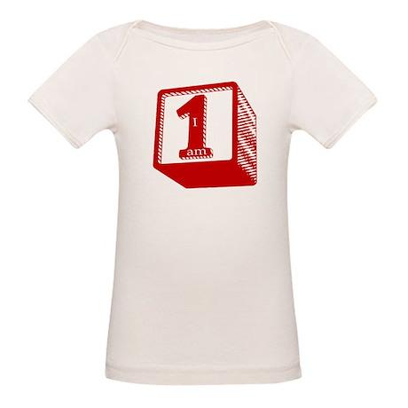 1st Birthday Organic Baby T-Shirt