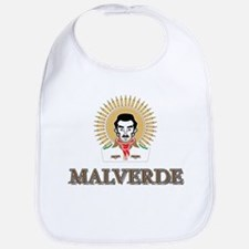 Jesus Malverde - Saint of the Druglords Baby Bib