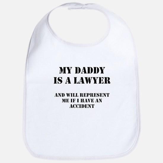 Daddy Is A Lawyer 1 Bib