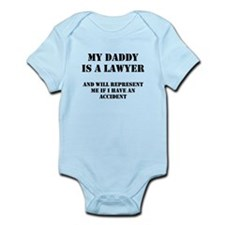 Daddy Is A Lawyer 1 Onesie