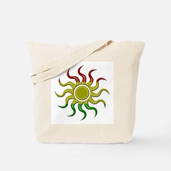 Sun Rasta Tote Bag
