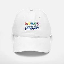 Blake is Due in January Baseball Baseball Cap