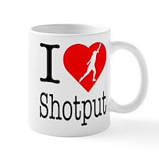 I Love Shotput Mug