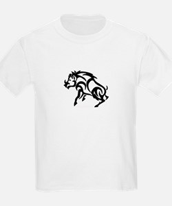 Boar filled in solid T-Shirt