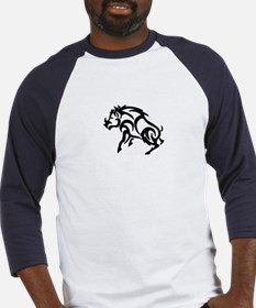 Cute Wild boar Baseball Jersey