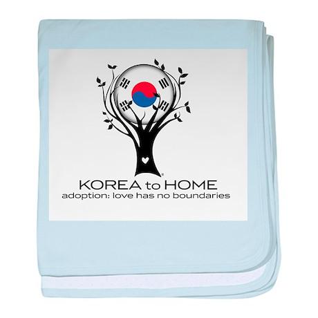 Korea to Home baby blanket