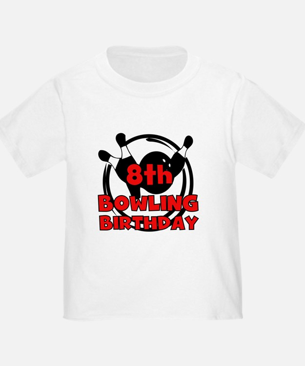 Cute Bowling birthday party T