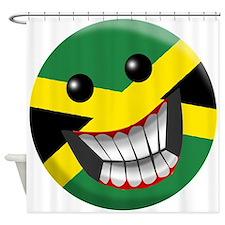 Jamaican Smile Shower Curtain