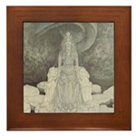 Dulac's Snow Queen Framed Tile