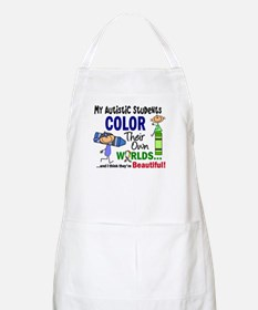 Colors Own World Autism Apron