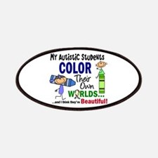 Colors Own World Autism Patches