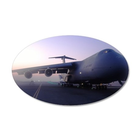 C-5 Galaxy 38.5 x 24.5 Oval Wall Peel