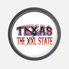 TEXAS - The XXL State Wall Clock